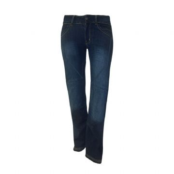 Bull-it Ladies SR4 Flex Blue Covec Armoured Motorcycle Jeans Regular Leg SALE